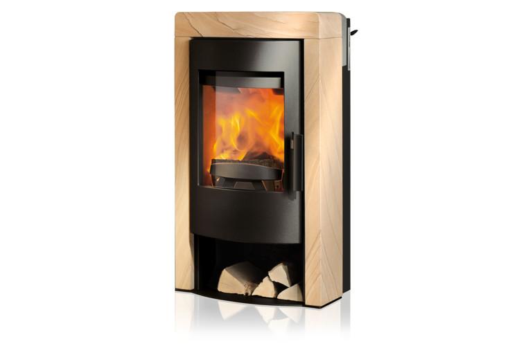rika fox ii rikatronic3 houtkachel. Black Bedroom Furniture Sets. Home Design Ideas